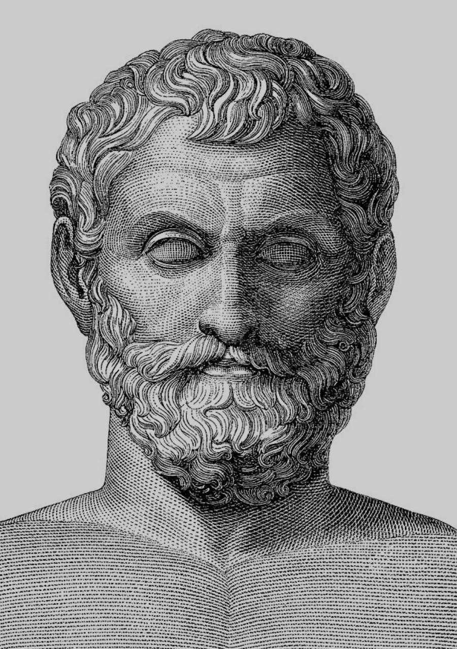 Ancient Greek architect, urban planner, physician, mathematician, meteorologist and philosopher Hippodamus of Miletus.