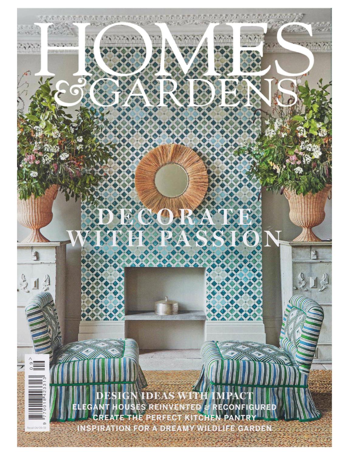 Interior Design Magazine covers