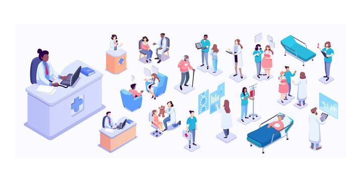 Overzicht van verschillende disciplines in het zorgveld