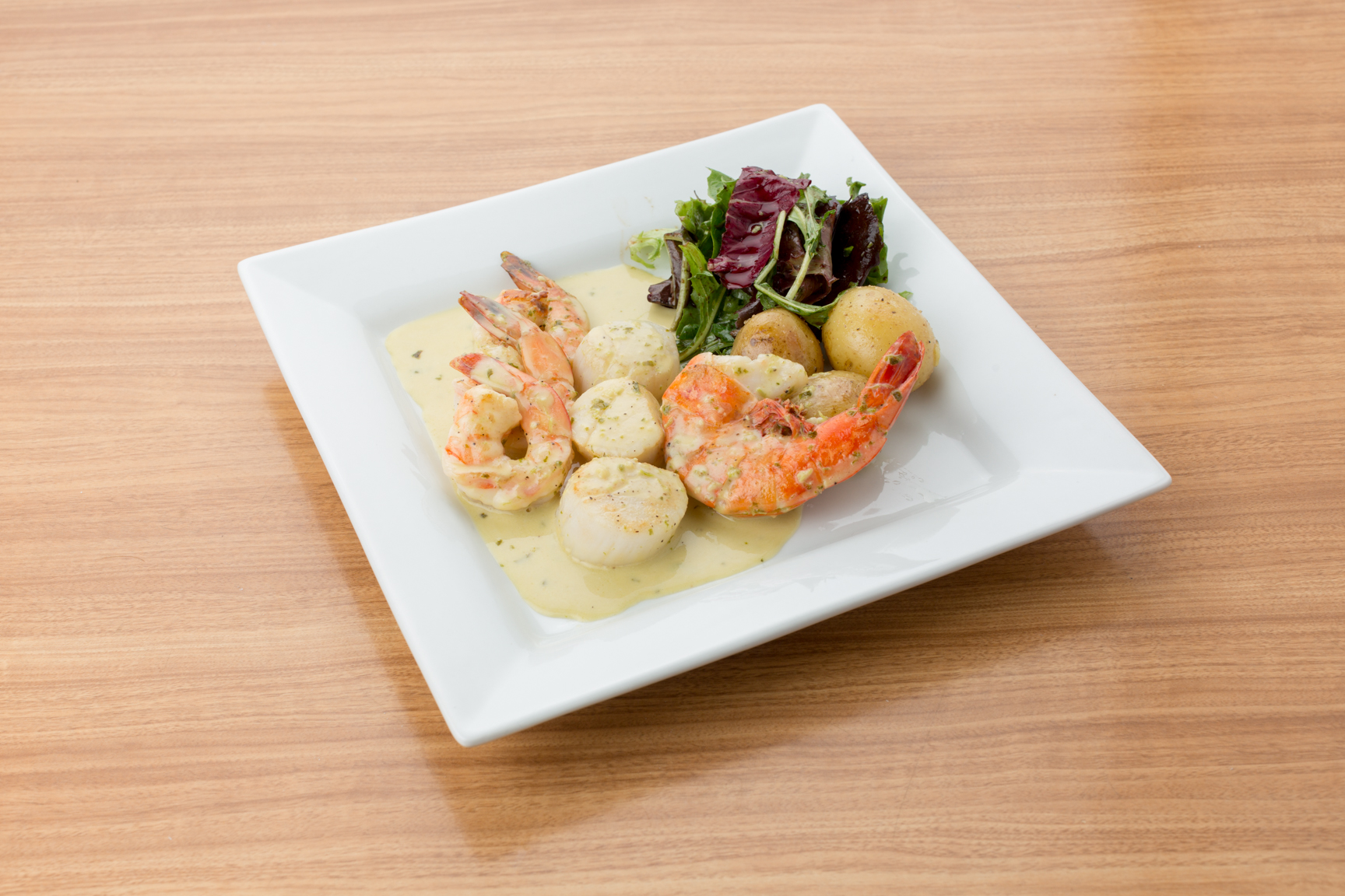 Joie Cafe Shrimp dish photography by marlboro wang photo
