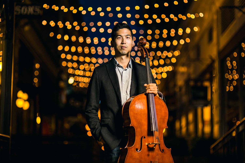 Personal Branding Photography Cello Player - Jon Mark Photography
