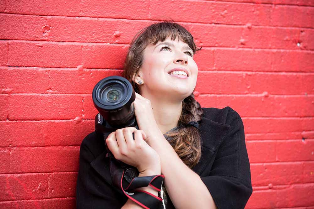 Vancouver photographer Julie Doro poses for a photo.
