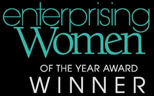 Sue Phillips was an Enterprising Women of the Year Award Winner