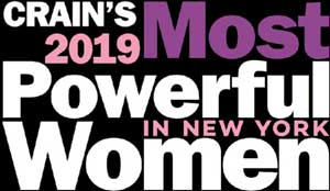 Sue Phillips was named Crain's Most Powerful Women in New York in 2019
