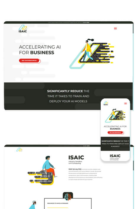 paper crane portfolio assets for ISAIC - 1