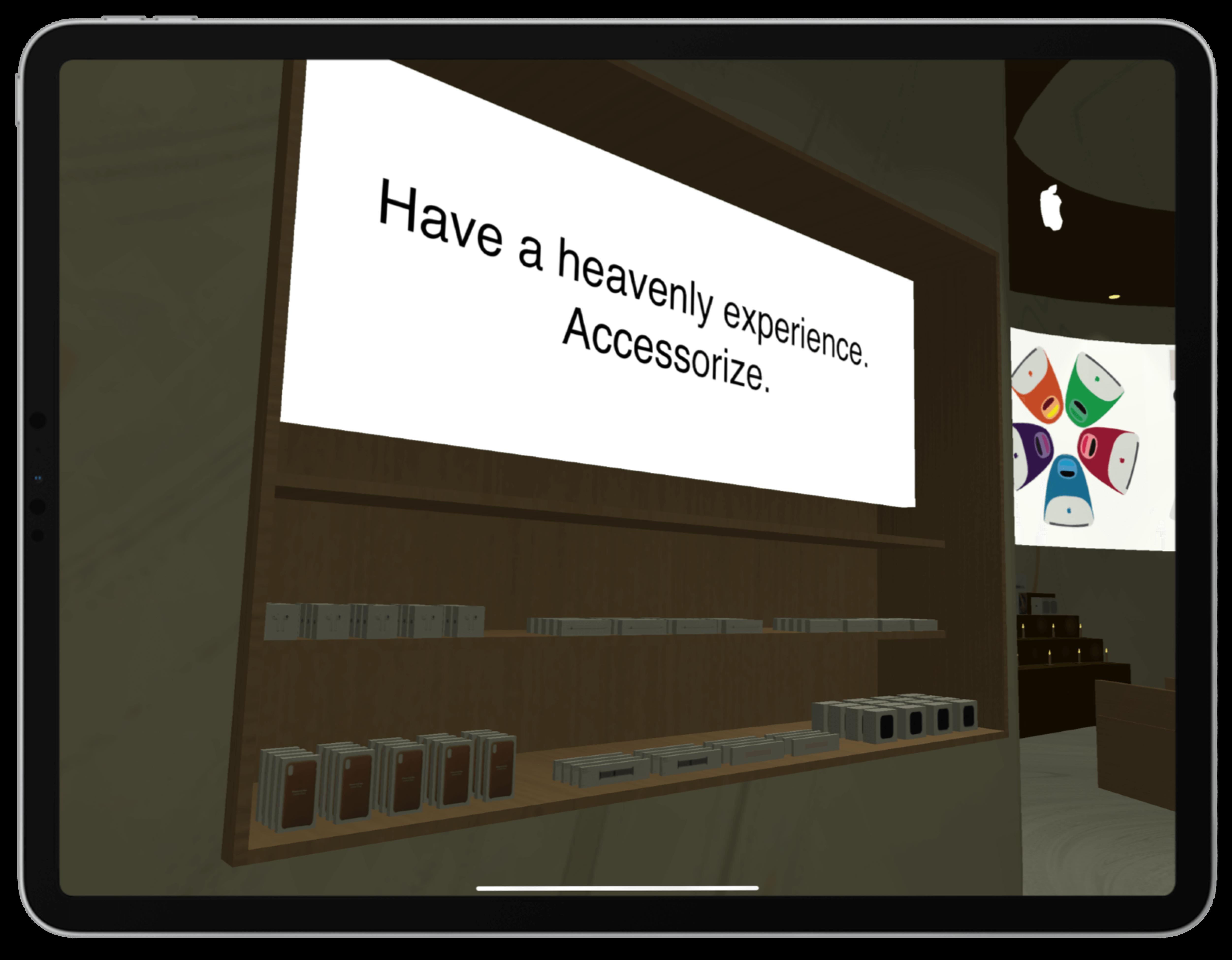 Apple Chapel Accessorize Screenshot | Toby Everett