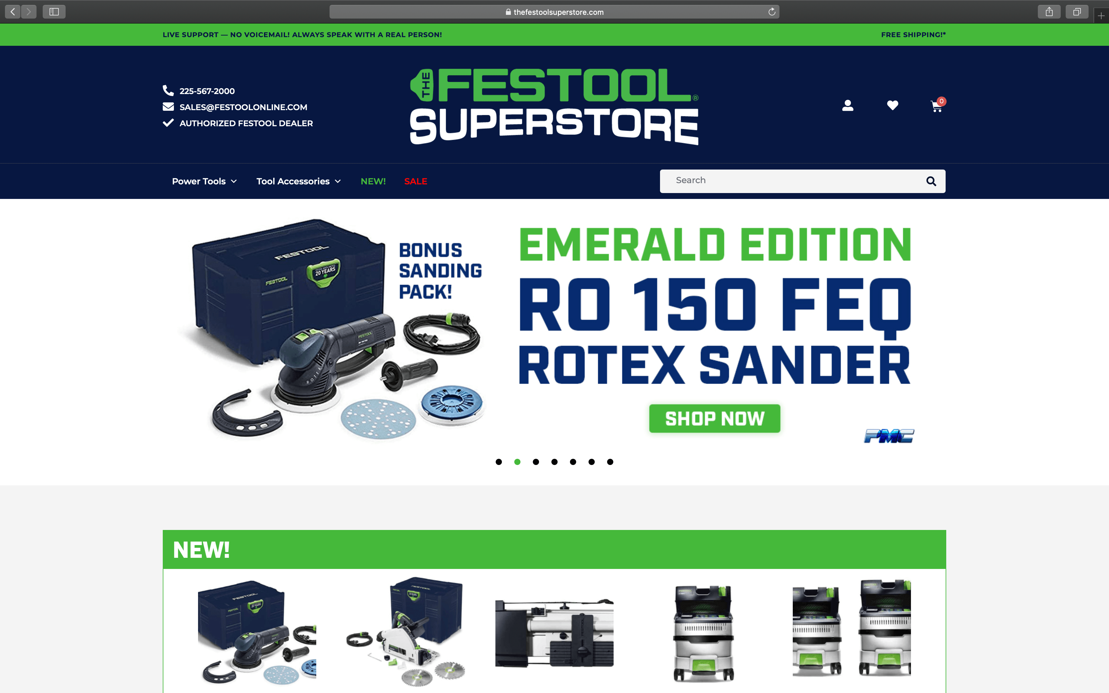 Festool Home Page | Toby Everett