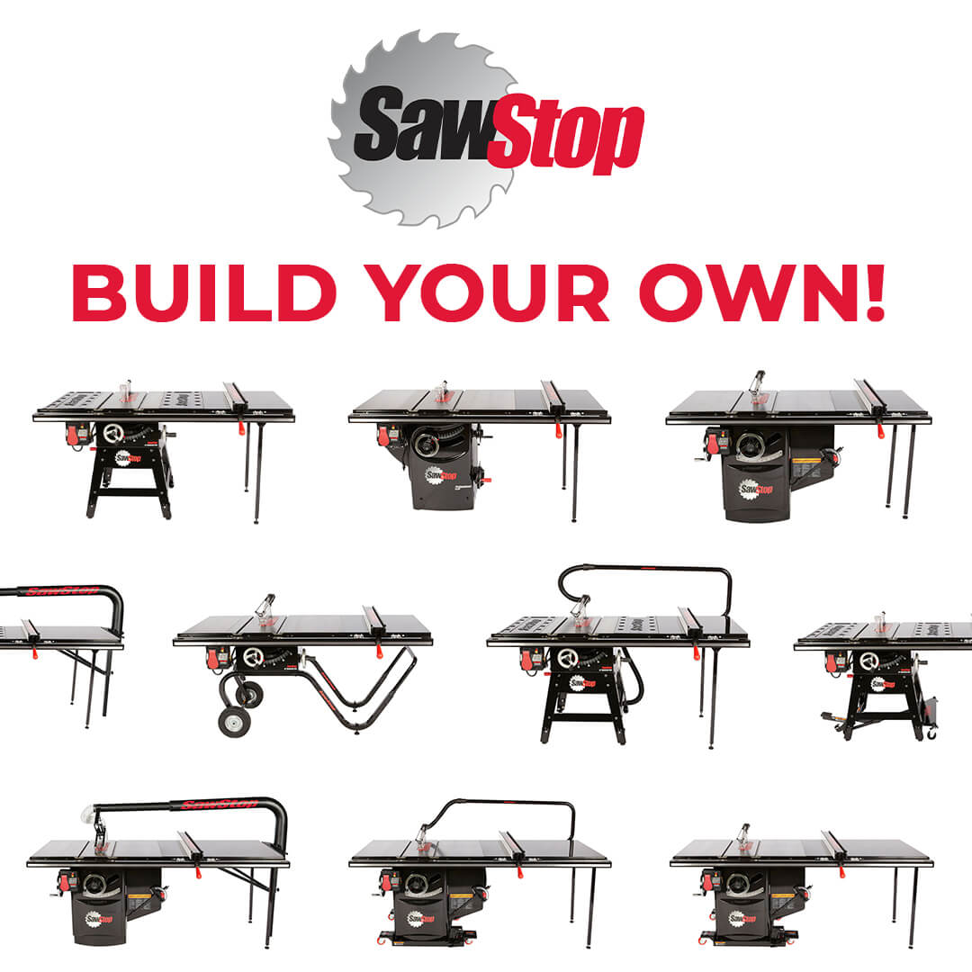 PMC Machinery Build You Own SawStop Graphic | Toby Everett