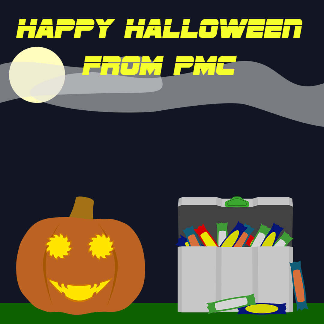 PMC Machinery Halloween Graphic | Toby Everett
