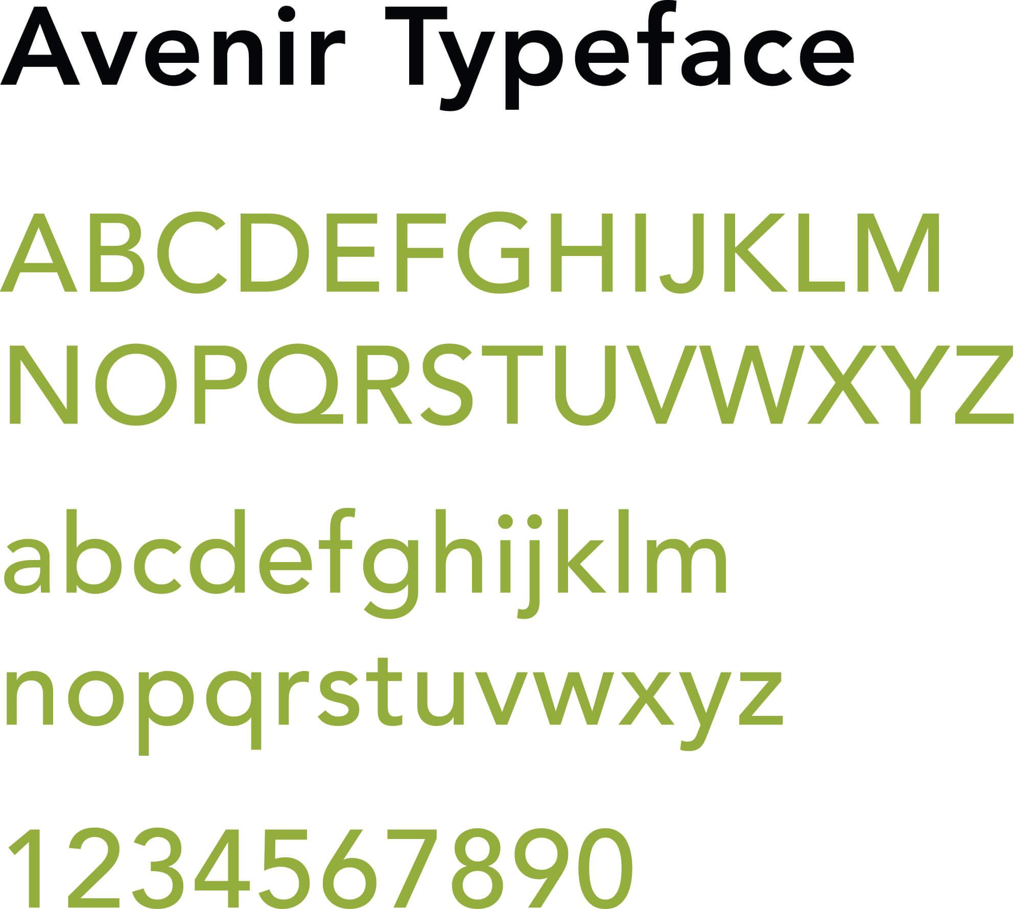 Fixin Avenir Typeface   Toby Everett