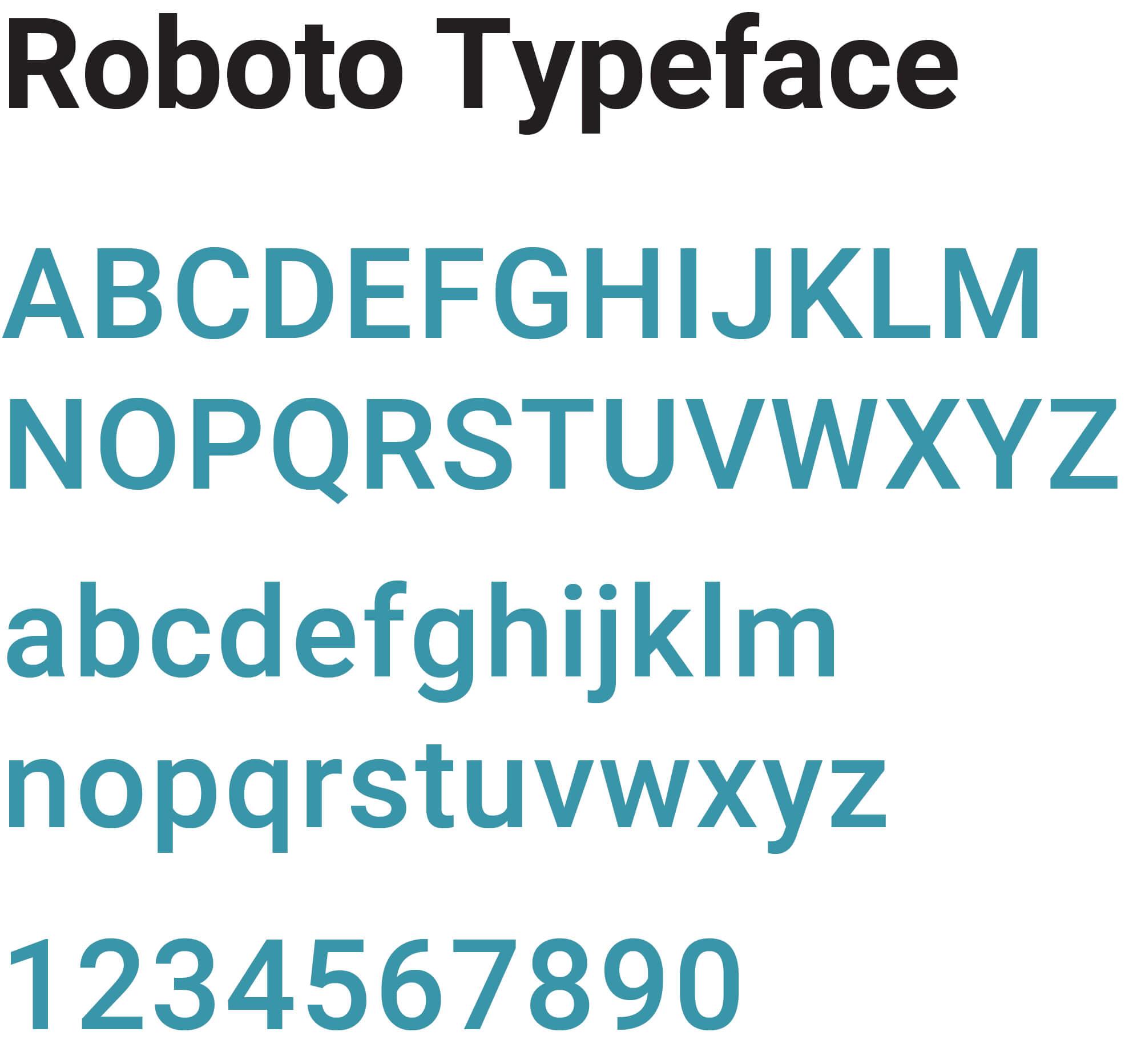 Hum Roboto Typeface | Toby Everett