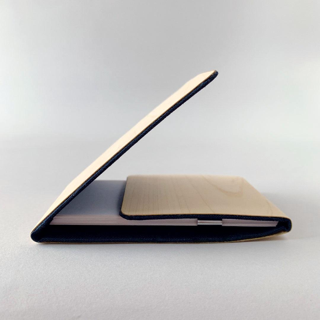 ツリーレザー・カードケース/ネイビー