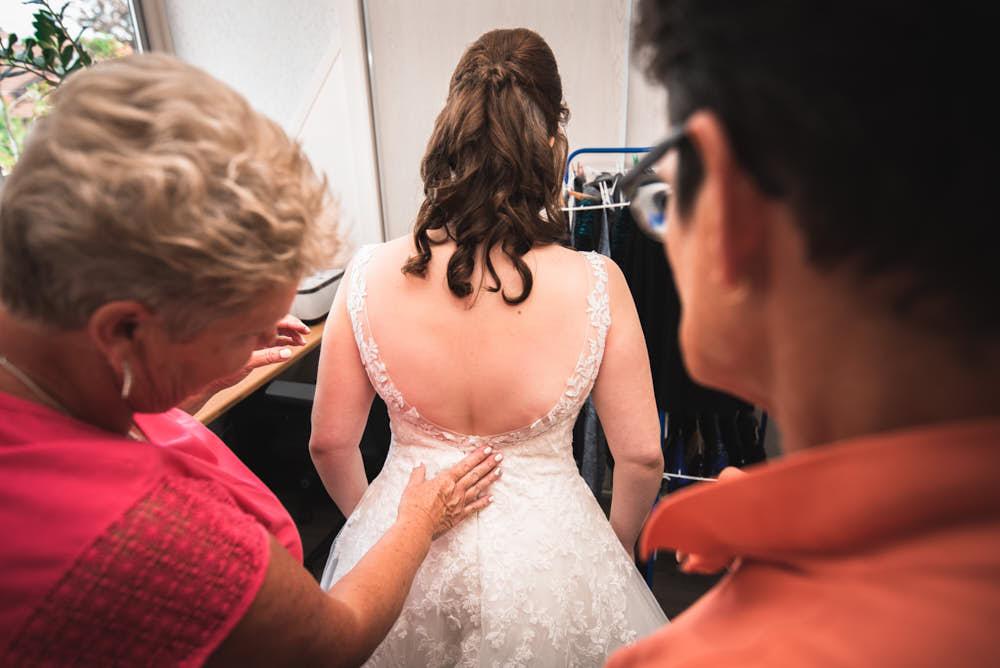 bruid voorbereidingen
