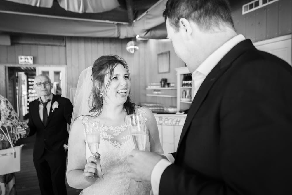 toast trouwdag