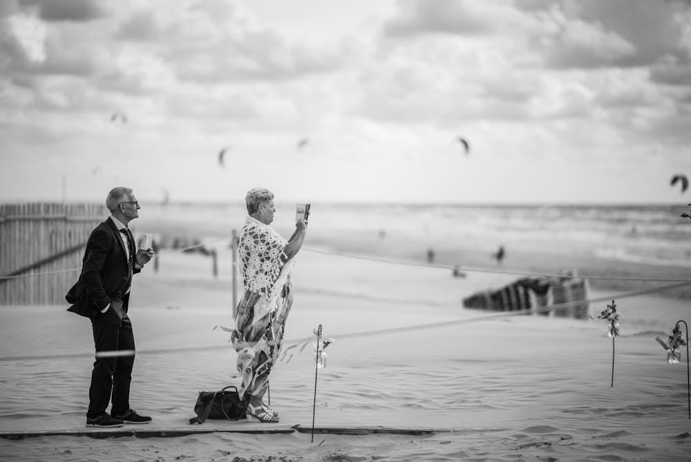 foto op het strand