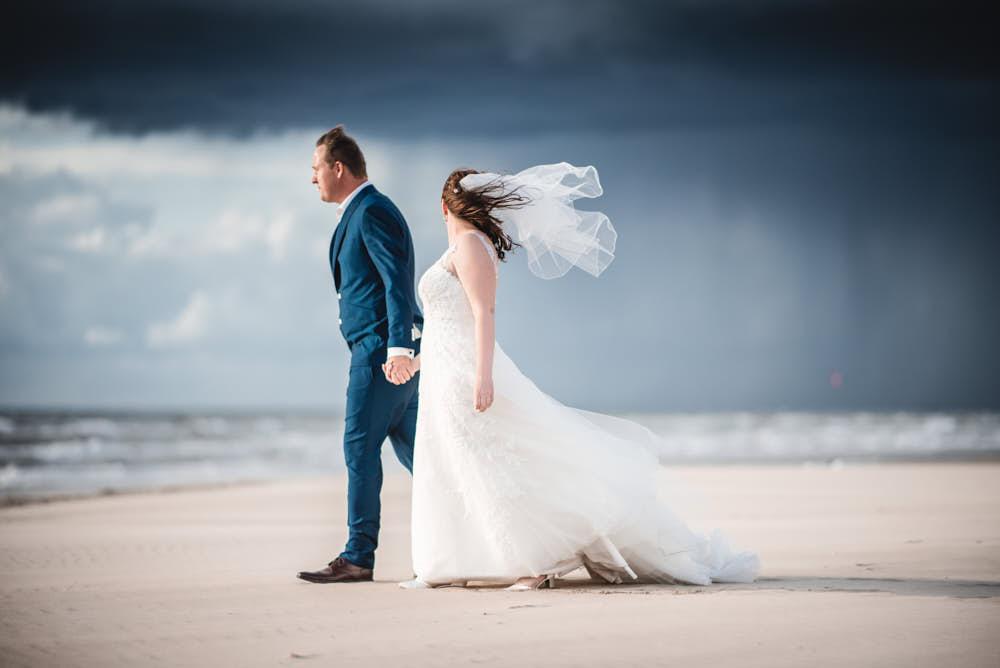 bruidspaar storm