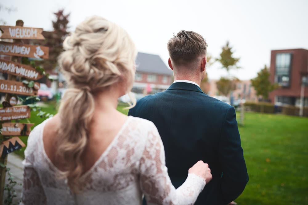 first look bruidspaar leiden