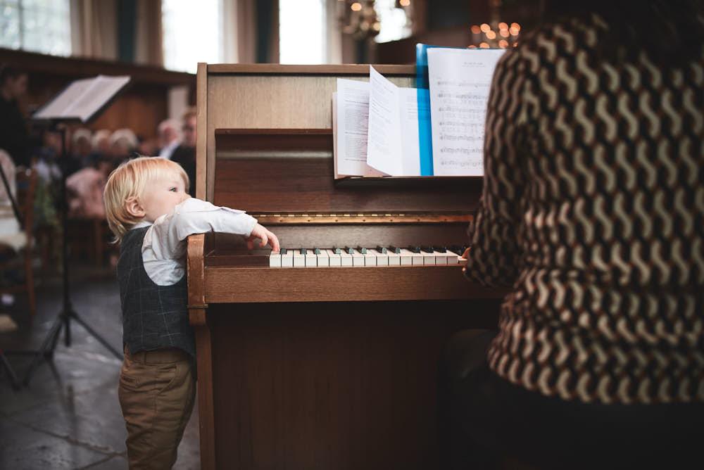 piano in de kerk trouwen