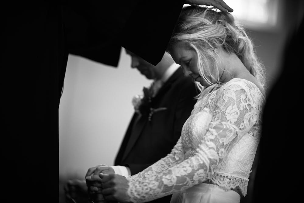 bidden bruidsceremonie