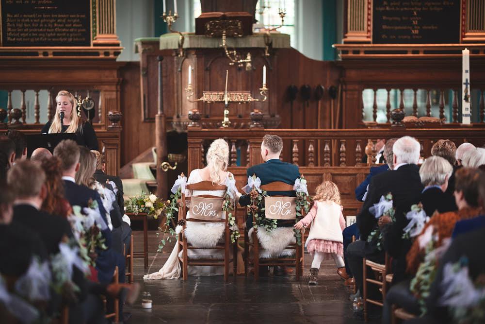 bruidsceremonie leiden