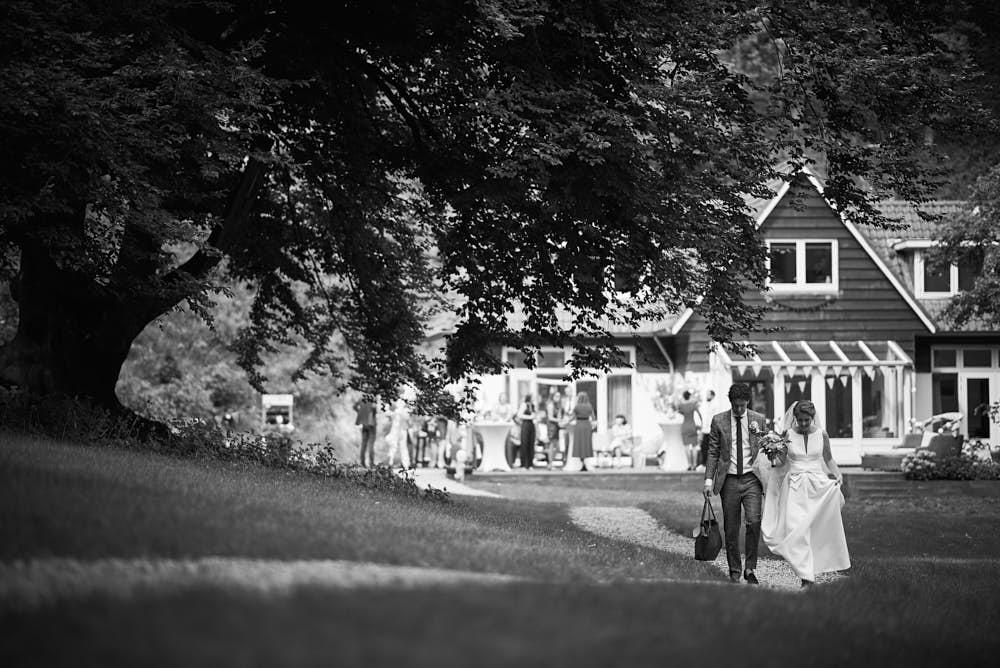 bruiloft bloemendaal