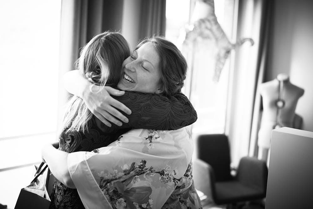 knuffel trouwdag