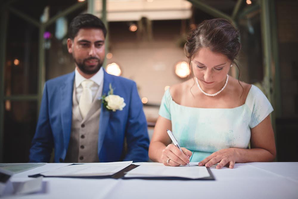 tekenen bruiloft