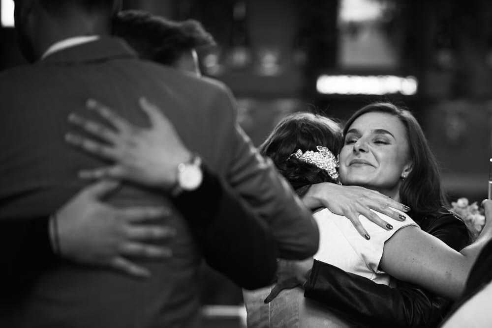 knuffel bruiloft