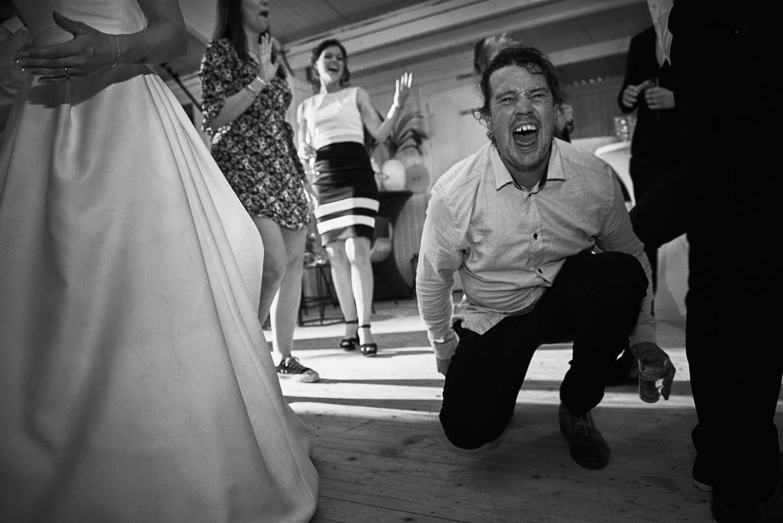 gek op de dansvloer