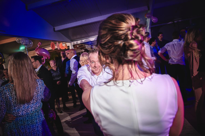 dansmoves tijdens trouwdag