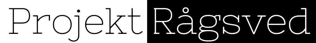 Projekt Rågsveds logotype