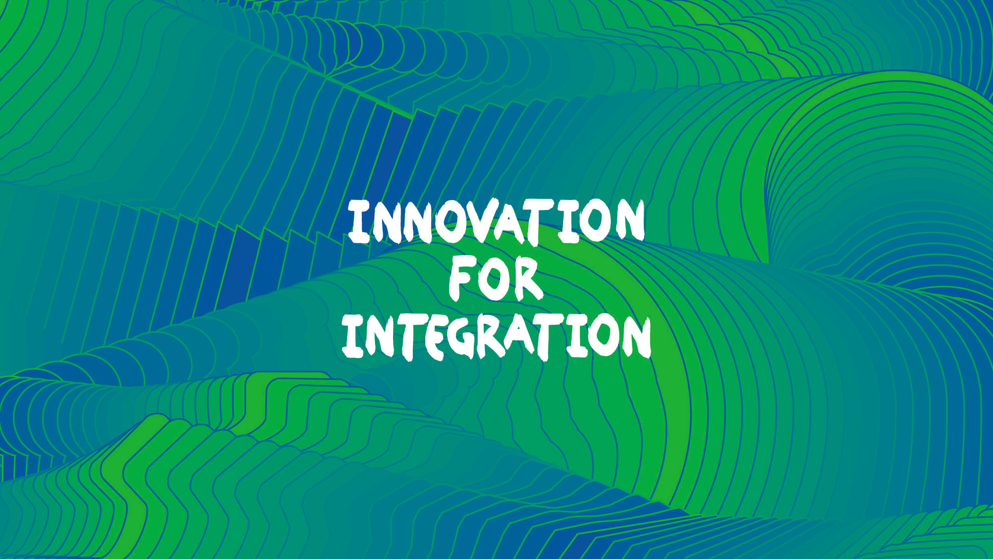 Innovation for integration logotype