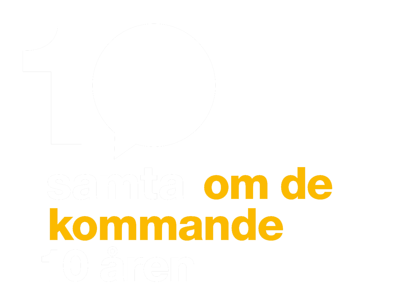 10 Samtal om de kommande 10 åren