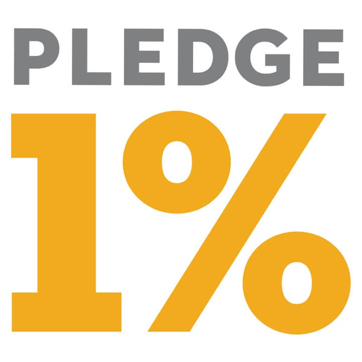 Pledge 1%, volunteer time off