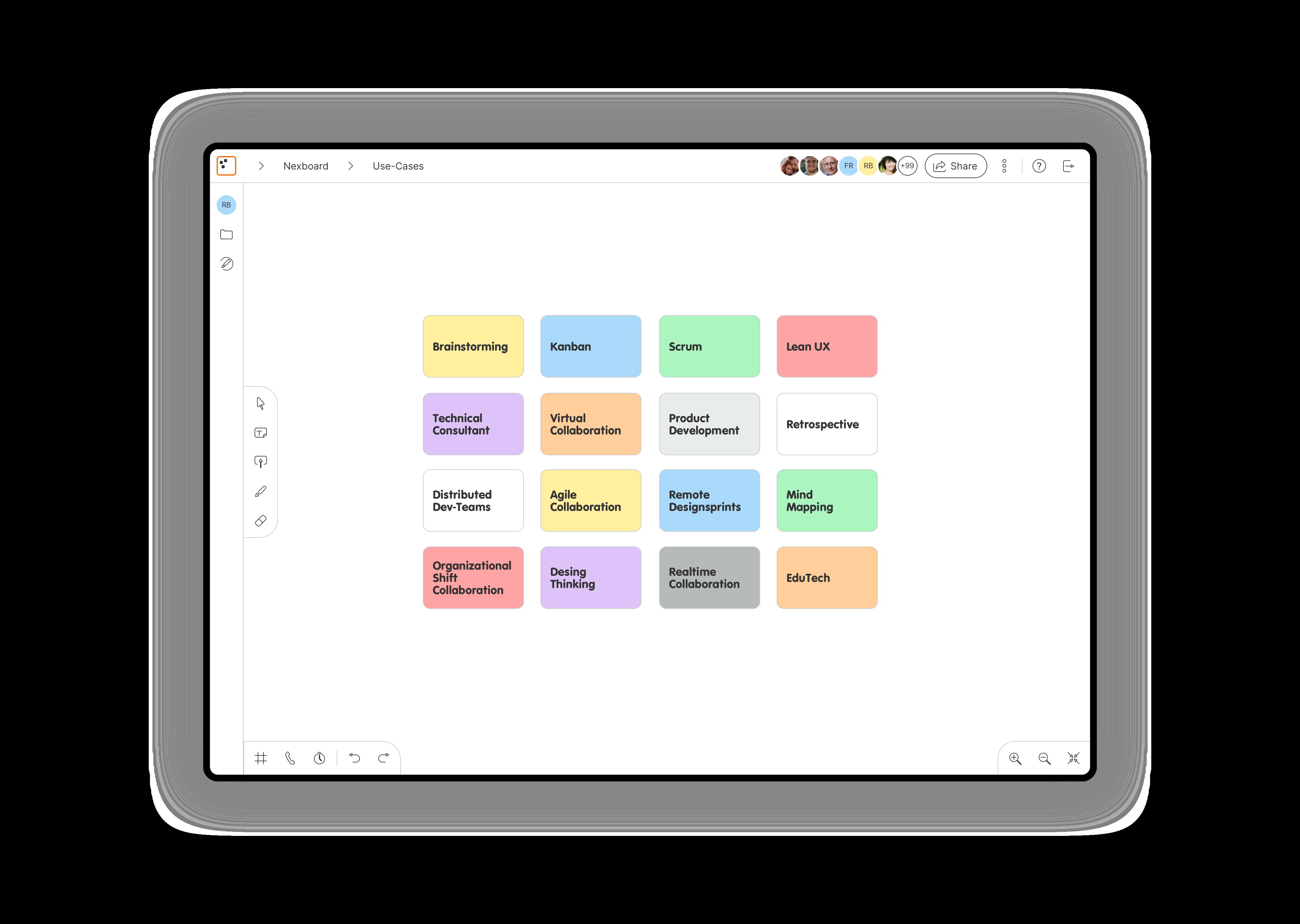 Mit Machine Learning Technologie wird eine analoge Haftnotiz erkannt, dies wird per OpenCSV und Python ML Bibliotheken umgesetzt.