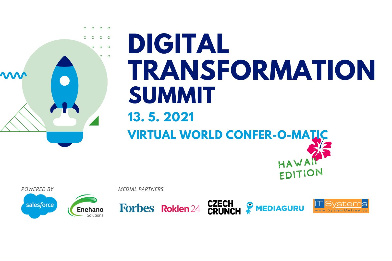 Digital Transformation Summit ukáže nové možnosti automatizace a digitální transformace firem
