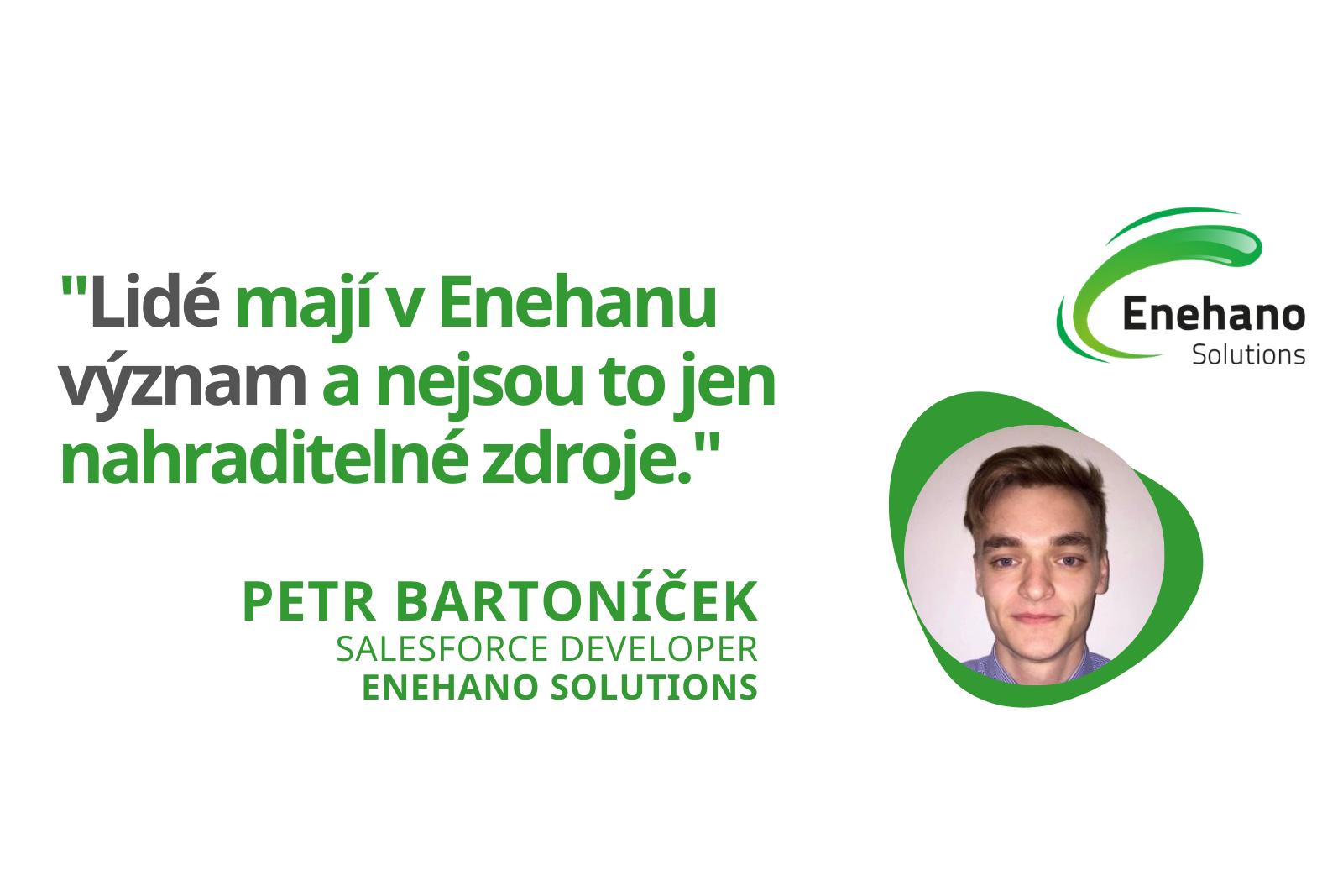 """Petr Bartoníček z Enehano Solutions – """"Tato firma je duší ze západu"""""""