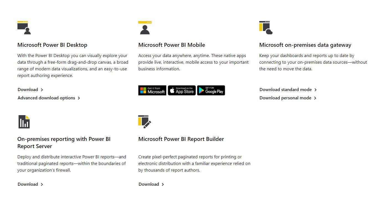 Download Power BI Desktop Report Builder for D365 Business Central