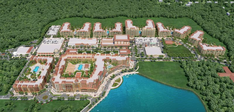 Rendering of CCWO's master planned community