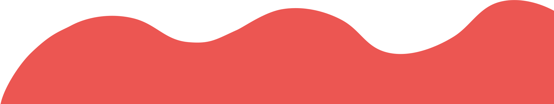 Red Background Wave