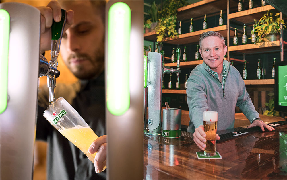If you've been enjoying a Heineken or two in premium bars and restaurants across Canada, chances are The Hive was the invisible partner in that experience. Our dedicated team of brand ambassadors has deployed over 6,000 on-premise activities this year including Extra Cold draught tower installations, bartender education, promotional events and more. The team's trade and consumer-based approach is increasing sales and building positive consumer experiences.