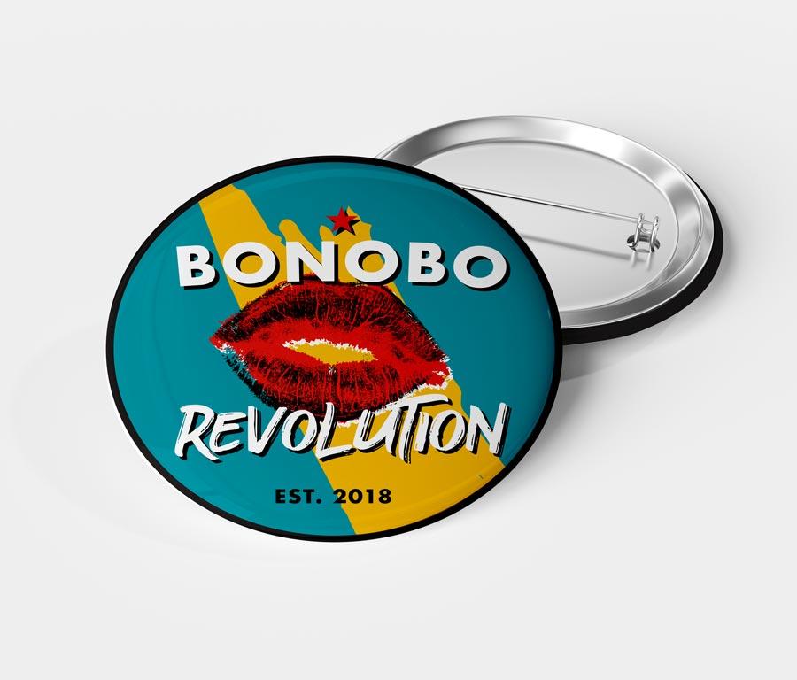 Bonobo Revolution Button