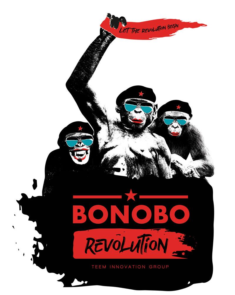 Bonobo Revolution Primary Graphic