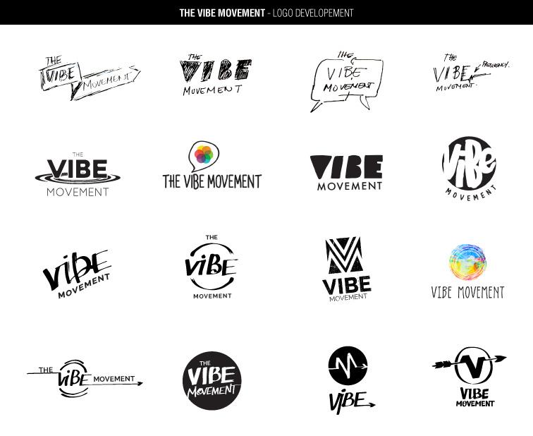 Initial VIBE Movement logos
