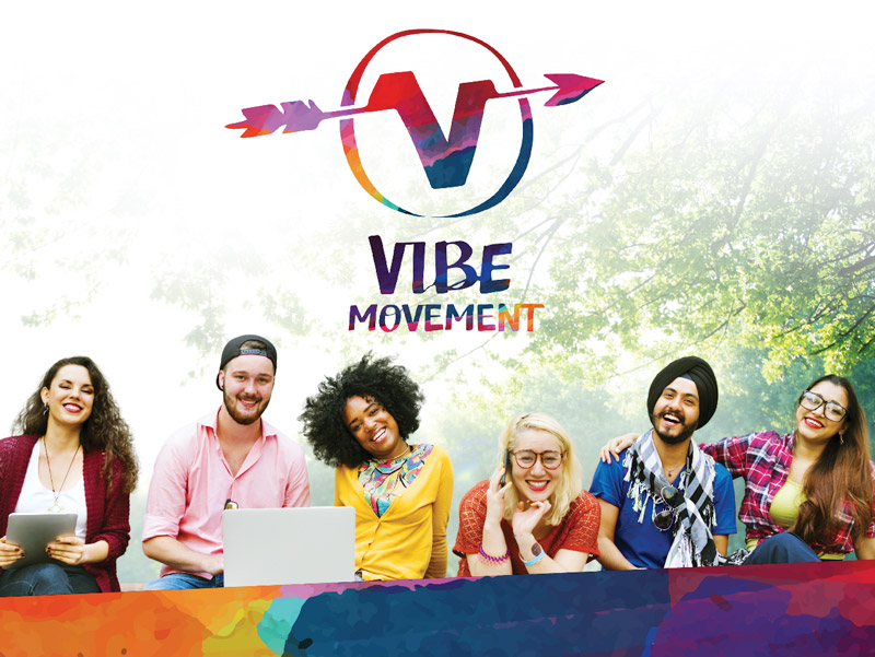 Vibe Movement graphical treatment