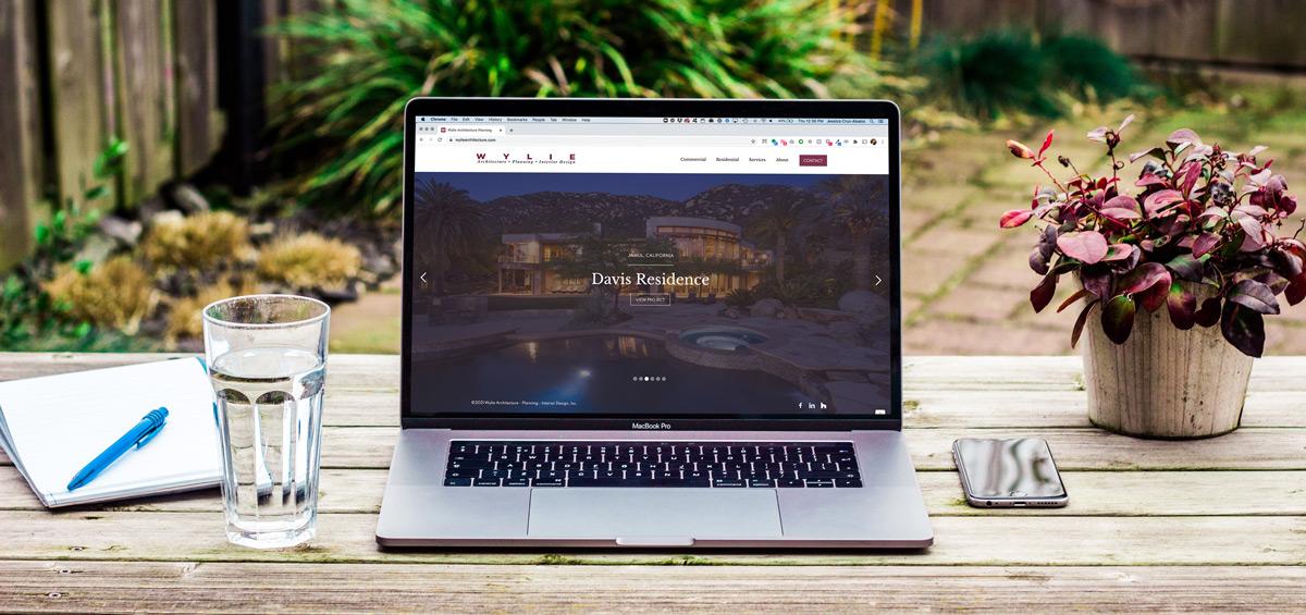 Wylie's new website