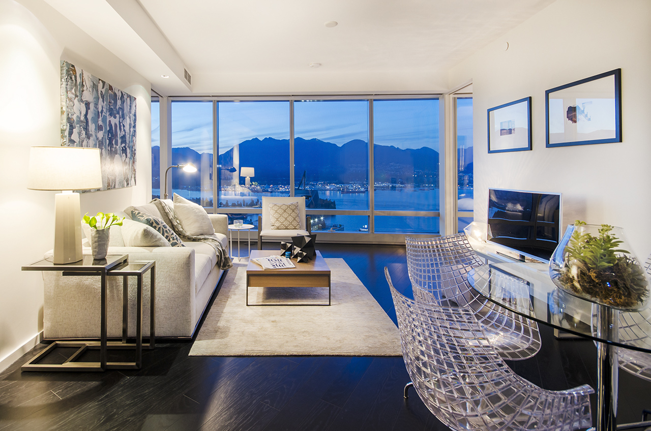 RESIDENTIAL SALE IN THE RESIDENCES AT TRUMP VANCOUVER