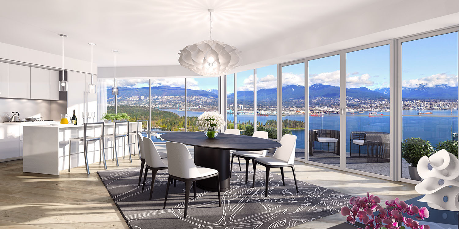 PRE-SALE OFFERING IN THE TRUMP INTERNATIONAL HOTEL & TOWER® VANCOUVER