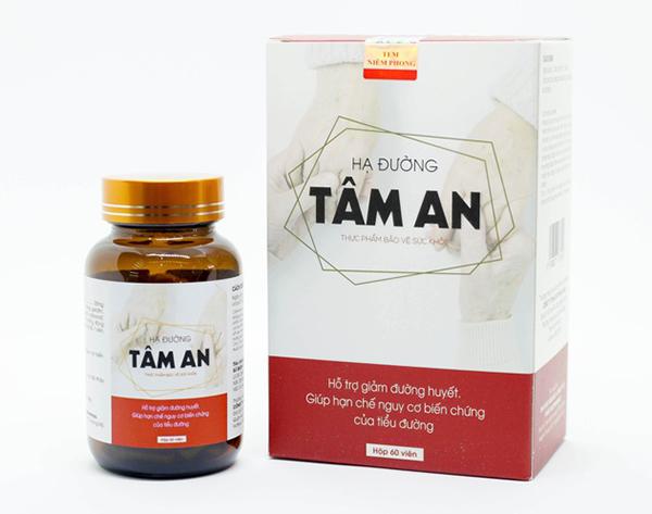 Viên uống thảo dược hỗ trợ điều trị, ngăn ngừa biến chứng tiểu đường hiệu quả