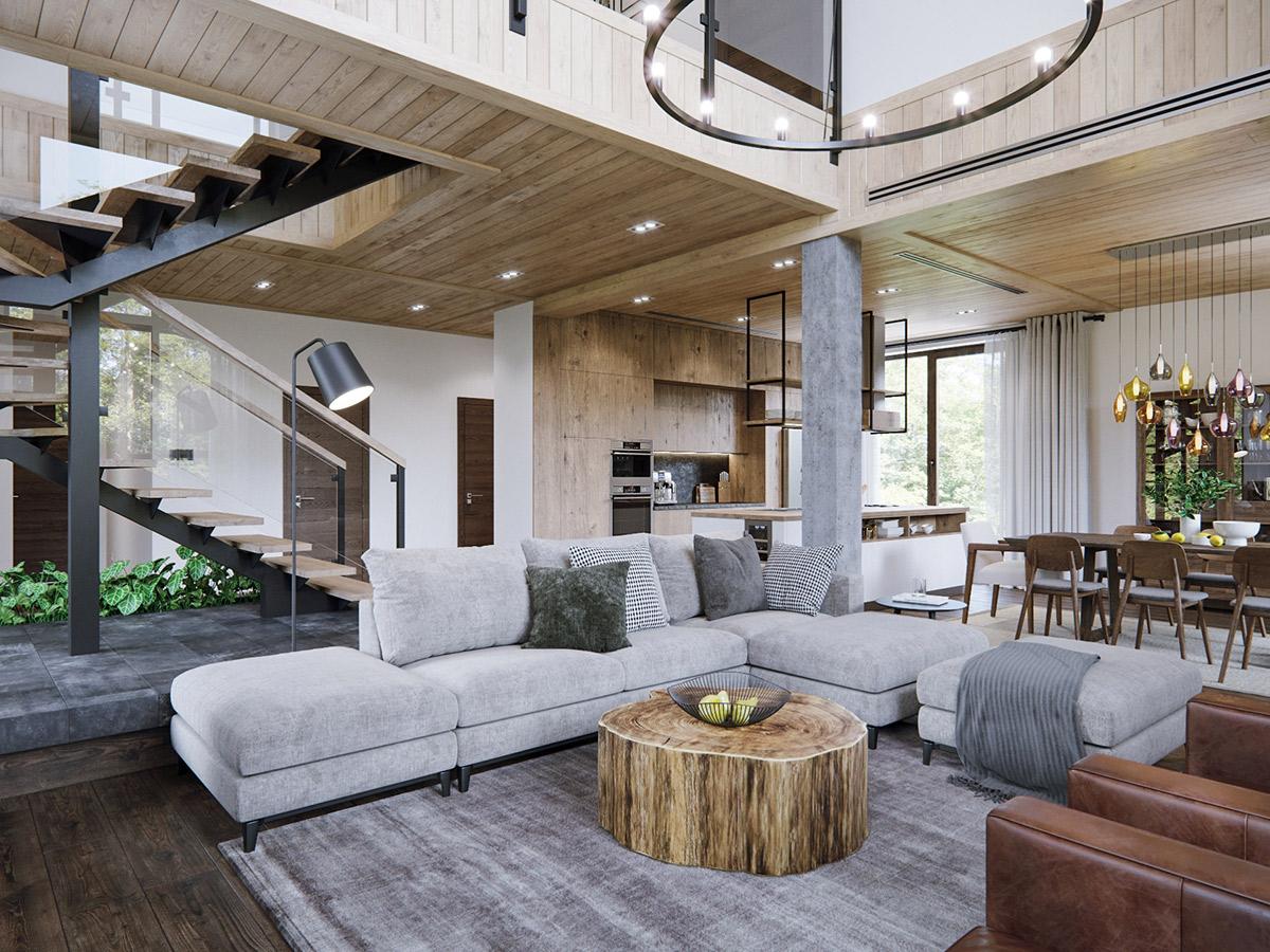 WOOD & AIR HOUSE